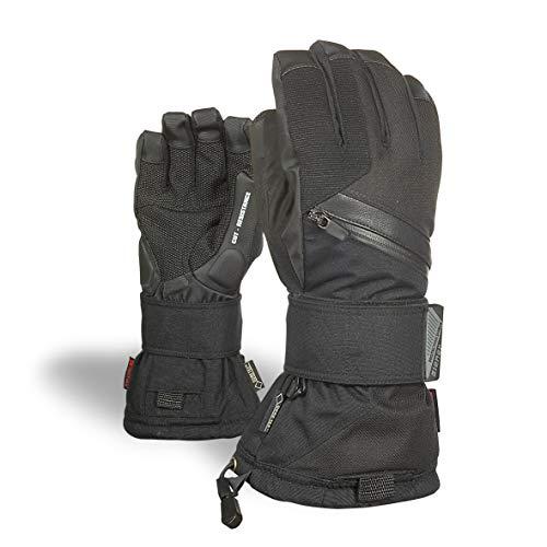 Ziener Erwachsene MARE GTX Gore plus warm glove SB Snowboard-handschuhe, schwarz (black hb), 7.5