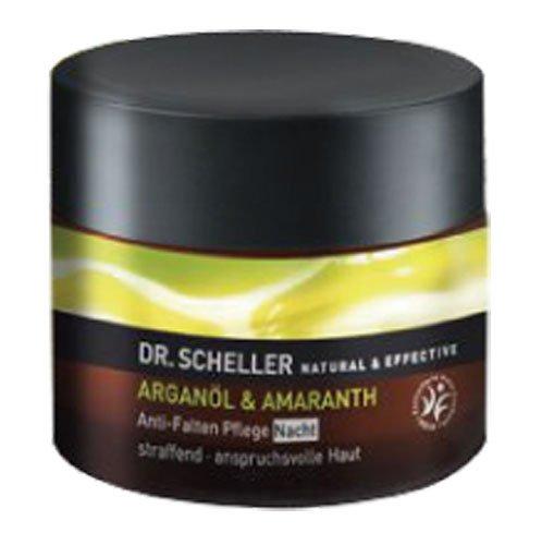 Dr. Scheller Arganöl und Amaranth Anti-Falten Pflege Nacht, 1er Pack (1 x 50 ml)