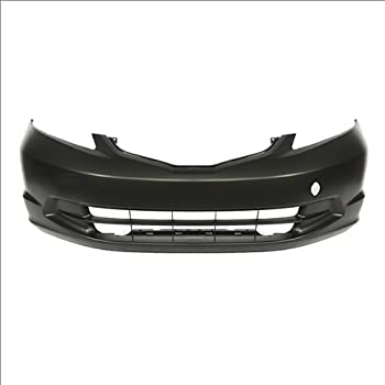 CarPartsDepot 352-31212-10-BK FRONT BUMPER PRIMERED BLACK PLASTIC COVER MA1000161