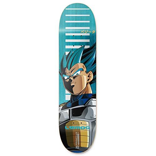 Primitive Lemos SSG Vegeta Skateboard Deck 8.25 inch Blue