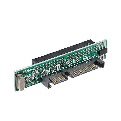 pedkit Adaptador IDE a SATA de 2,5 Pulgadas, 2,5 Pulgadas Compatible con Unidad de Disco Duro ATA HDD o convertidor de Puerto SSD a 44 Pines