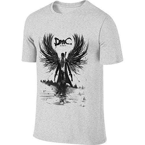 Camiseta Personalizada de Novedad para Hombre Devil May Cry 5 Dante Camiseta