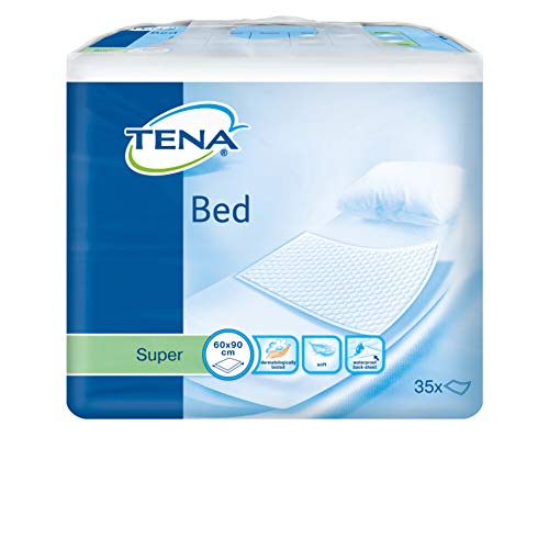 Tena Set de 35 Bed Super Alèses Absorbantes 90 cm x 60 cm