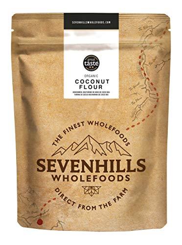 Sevenhills Wholefoods Farine De Noix De Coco Bio 1kg, Sans Gluten