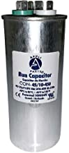 Appli Parts Dual Run Capacitor 45 + 10 Mfd uF (microfarads) 370 VAC or 450 VAC Round CON-45/10-450