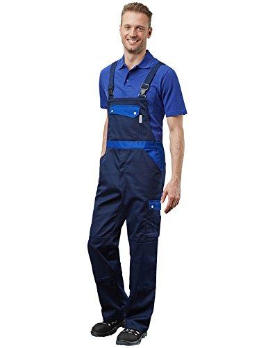Pionier ® workwear Herren Latzhose Active Style in Marineblau (Art.-Nr. 2685) Größe 50