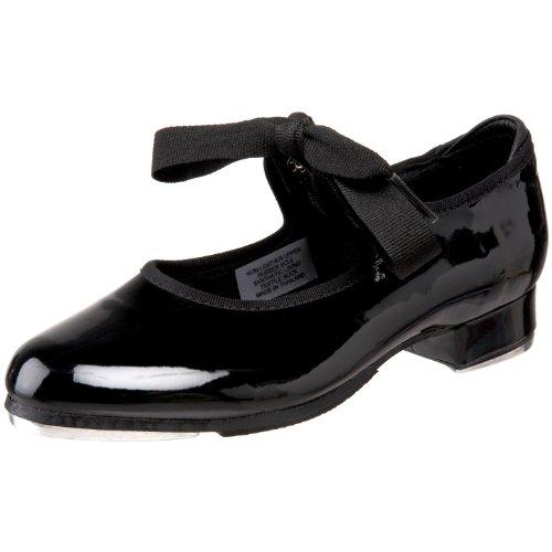 Bloch Girl's Dance Annie Tyette Tap Shoe, Black Patent, 1 Medium US
