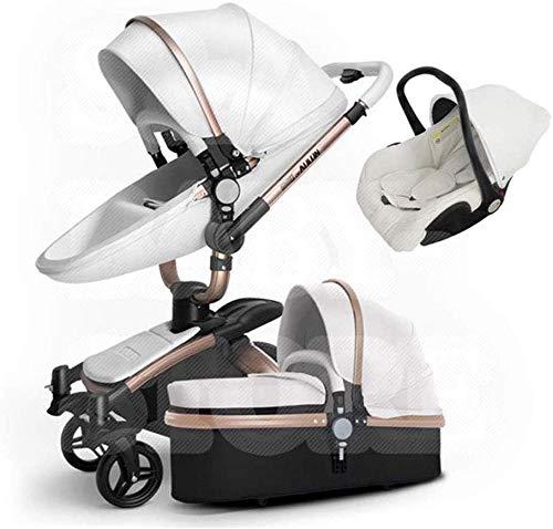 Baby Buggy, hoge positie op twee dingen soort vouwbaar, de baby kan in deze lichte kinderwagen zetels en banken, aluminiumlegering, 80X60x112cm