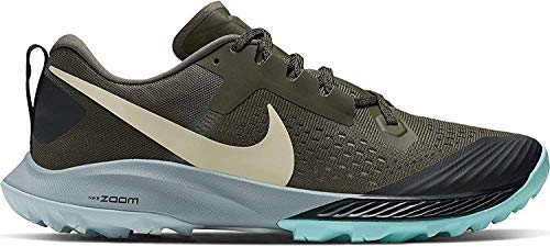 Nike Men's Air Zoom Terra Kiger 5 Trail Running Shoes (10.5, Khaki)