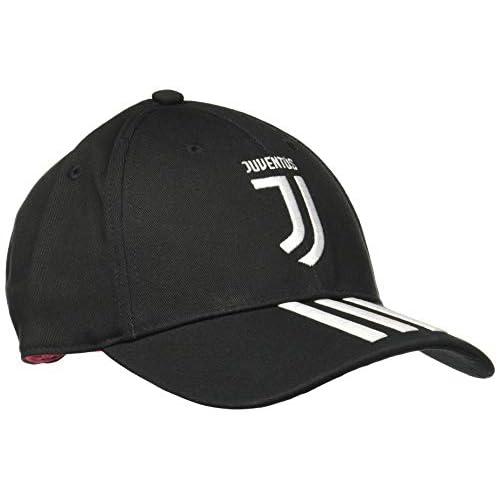 adidas Juve 3s Home/Away/3rd, cap Uomo, Black/White/Active Pink, OSFM