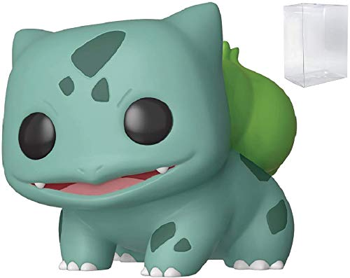 Juegos Funko: Pokemon - Bulbasaur Pop! Figura de Vinilo (Incluye Estuche Protector Pop Box Compatible)