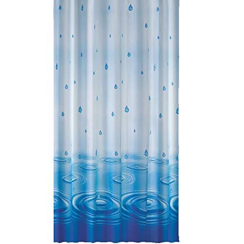 Anti Schimmel & Bakteriell EDLER Textil Duschvorhang 120 x 200 cm