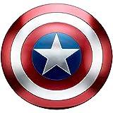 Getrichar Capitán América Escudo Full Metal 1 a 1 Versión de película Vengadores Accesorios de Mano Modelo Decoración Serie Leyenda Réplicas 47,5 cm
