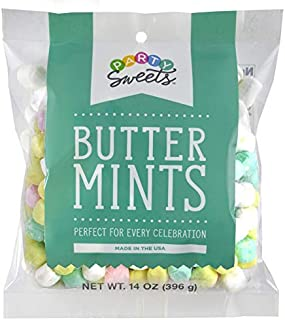 Party Sweets Assorted Pastel Buttermints, 14 Ounce