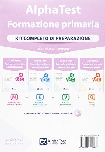 Alpha Test. Formazione primaria. Kit completo di preparazione. Con Contenuto digitale per download e accesso on line