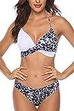 UMIPUBO, Traje de baño Dividido para Mujer, Conjuntos de Bikinis, Conjunto de Bikini Triangular de Dos Piezas, Traje de baño Push up, Traje de baño Estampado, Adecuado para Viajes en la Playa