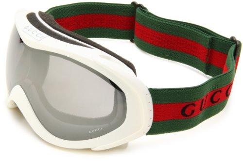 Gucci Goggles 1653 Mattweiß 7GI