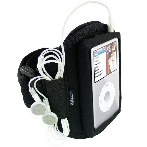 igadgitz Wasserabweisend Neopren Sportarmband für Apple iPod Classic 80GB, 120GB & 160GB + IPOD Video 30GB & 60GB