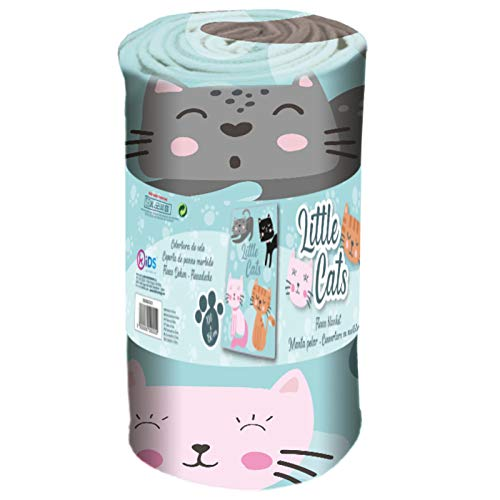 Kids Licensing Little Cats Fleece-Decke mit Silk-Touch 150x100cm