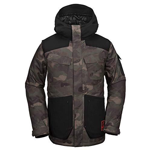 Volcom Herren VCO Inferno Insulated 2 Layer Stretch Snow Jacket Isolierte Jacke, Camouflage, X-Large