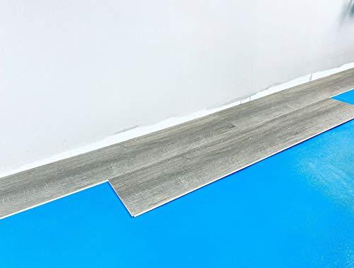 Vinyl HighTec Trittschalldämmung mit Aqua Stopp-Anti Rutsch Stärke 2mm und 3mm (50m² 2mm)