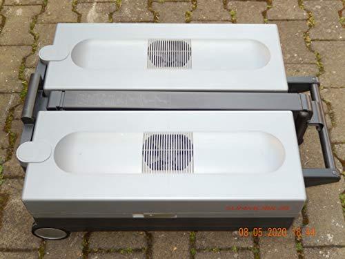 Philips Solarium Sunmobile HP 3701, UV Type: 3 Oberkörperbräuner, Homesun - Sonnenbank mit Brille und Handbuch in Blau