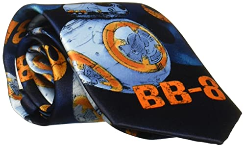 Star Wars Big Boys The Force Awakens Ties (Various Patterns), Babylon Blue, One Size