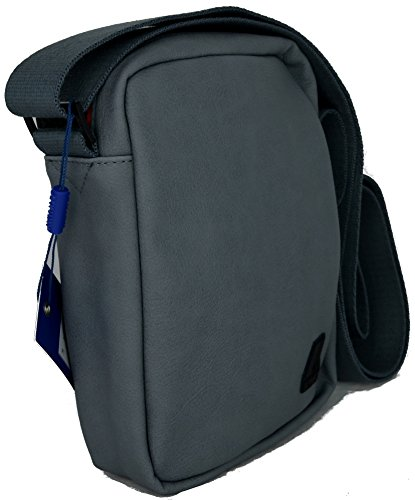K-Way Borsa Borsello Tracolla Uomo Bag Men K-Pocket Plus Small Ammo K1C10-Graphite