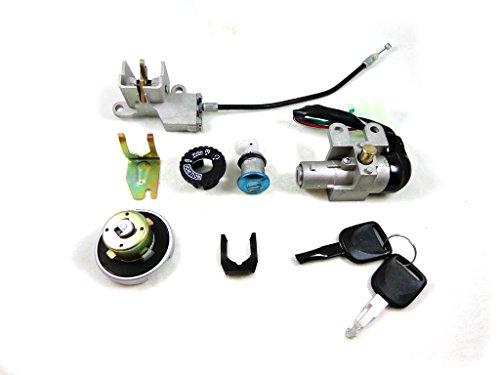 5 Wire Ignition Key Switch Lock Assembly Set for GY6 50cc 125cc 150cc 250cc Chinese Scooter Moped Taotao SUNL Baja Kazuma
