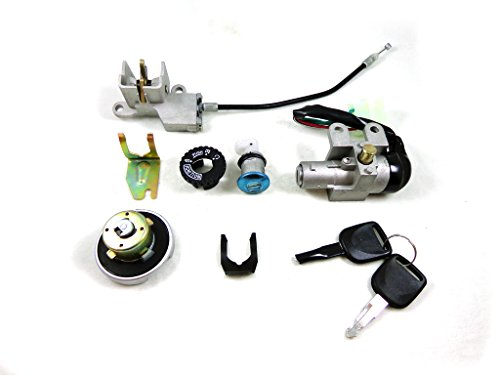 5 Wire Ignition Key Switch Lock Assembly Set for GY6 50cc 125cc 150cc 250cc Chinese Scooter Moped Taotao SUNL Baja Kazuma