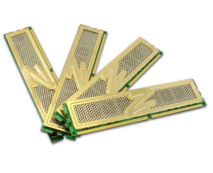 OCZ Gold DDR2 PC2-6400 Arbeitsspeicher 4GB Kit (4X 1GB, 800MHz, CL5)