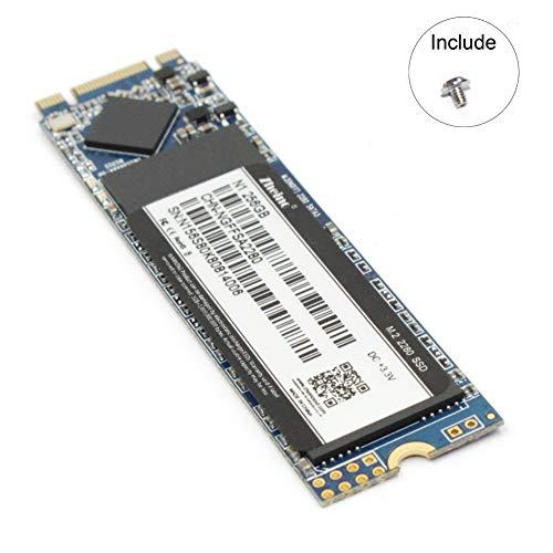 Zheino M.2 SSD 2280 256GB NGFF SATA interne 3D Nand Solid State Drive für Ultrabooks und Tablets