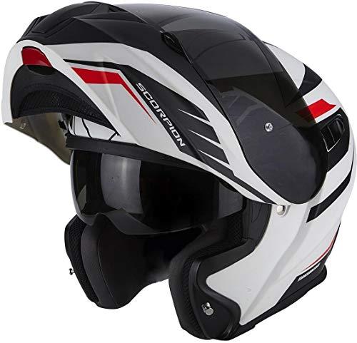 Scorpion Casco moto EXO-920 Shuttle Opaco Bianco-Nero XS