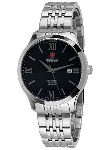 Swiss Military Hanowa 06-5300.04.001 - Reloj automático para hombre, 40 mm, 5 ATM