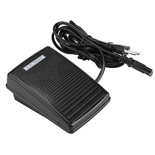 Yinong Nähmaschine Fußpedal Controller,Universal Home Nähmaschine Fußschalter Pedal Variable Speed Controller mit Netzkabel (EU-Stecker)