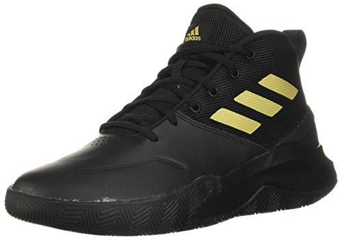 adidasOwn The Game ShoesBlack/Matte Gold/Black10.5