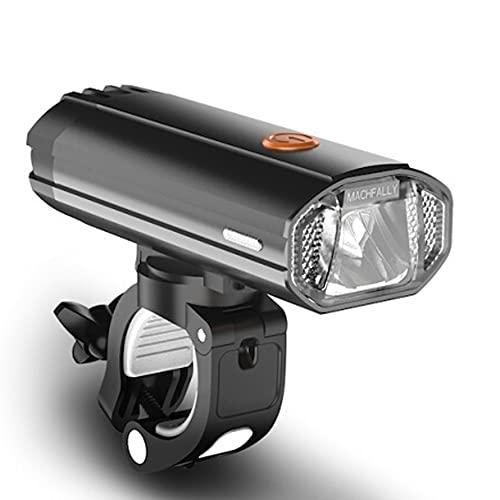 QQWJSH 4000mAH Luz de Bicicleta de Potencia móvil Linterna de deslumbramiento de conducción Nocturna Accesorios de Bicicleta Recargables USB Luz de Bicicleta de montaña 600 lúmenes Dead Fly