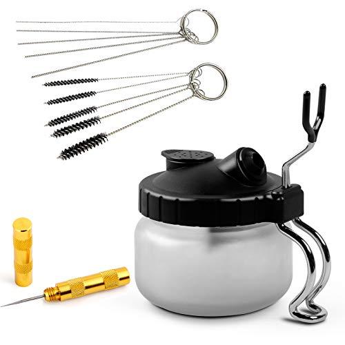 Aeman Airbrush Cleaning Kit 4 Set Airbrush Spray Gun Wash Cleaning Tools...
