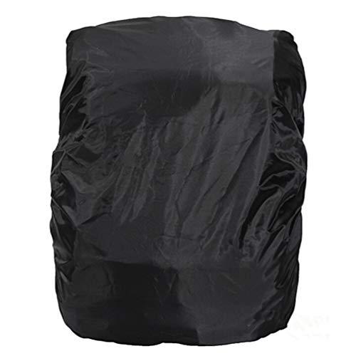 vorcool étanche sac à dos de couverture de pluie 15L-staubdichte pluie de protection de couverture (élastique réglable) 35 L Sac à dos pour randonnée/Camping/Voyage (Noir)