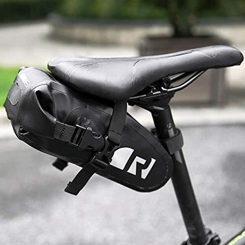 shuai Bolsa de Montar Bicicleta, Bicicleta Sillera de Bicicleta Bolsa Impermeable Bicicleta...