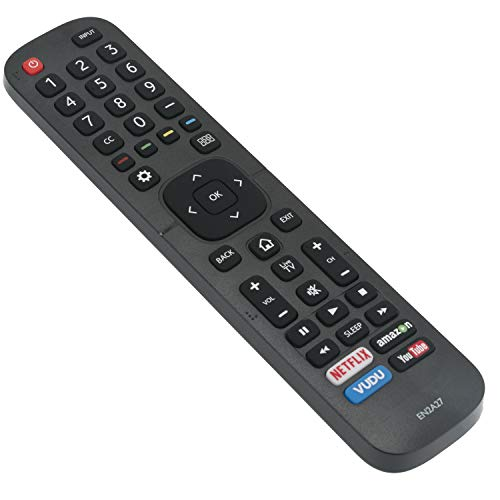 WINFLIKE EN2A27 Replacement Remote for Hisense TV 50H7GB 50H7C 50H7GB1 50H8C 55H5C 55H6B 55H7B 55H7C 55H9B2 65H7B2 65H8C LTDN55K2203GWUSA 40H5C 43H5C 43H7C 50CU6000 50H5C 50H6C 55H8C 65CU6200 65H10B