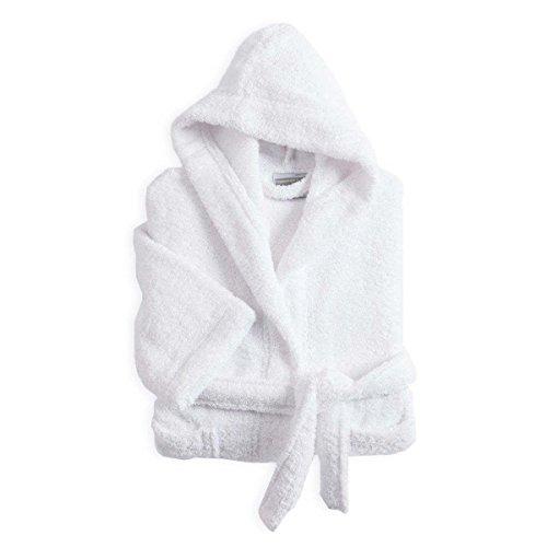 Peignoir Enfant Coton 420g Eponge Coton 12/14 Ans Perle