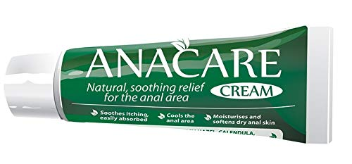 Anacare - Fast Acting Hemorrhoid Cream - Anal Itching - Piles - Haemorrhoids
