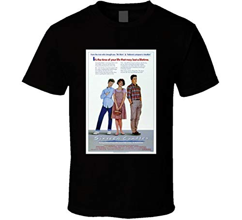 Sixteen Candles Cool 80's Comedy Vintage Classic Movie Poster Fan T Shirt