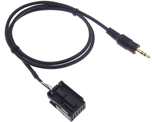 AUX Line IN Adapter Kabel Stecker MP3 Klinke kompatibel mit OPEL CD30 CDC40 CD70 DVD 90 Astra Zafira Tigra