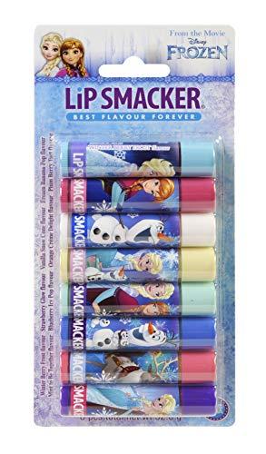 Markwins – Disney Frozen Party Packung - 8 Lippenpflegestifte in verschiedenen Geschmackrichtungen