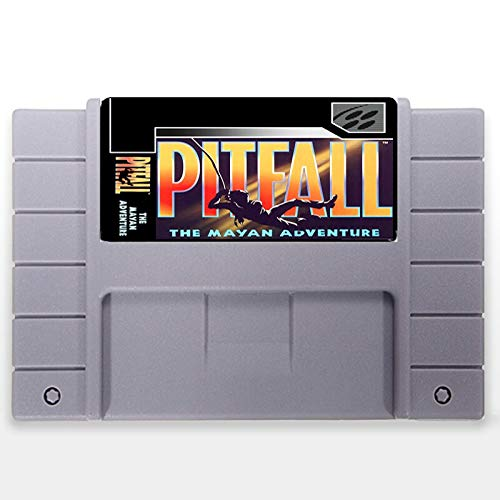 Jhana Pitfall The Mayan Adventure USA Version 16 bit Big 46 pines...