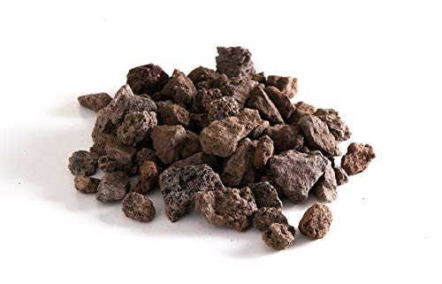 HENDI Lavasteine, Grob, Lava Rock, geeignet für unterschiedliche Gasgrilltypen, 9kg, Beutel