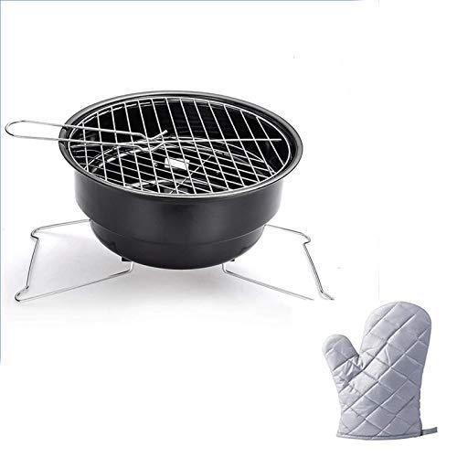 Parrilla de carbón de barbacoa for exteriores al aire libre Parrilla Al aire libre Parrilla Al aire libre Acero Inoxidable Plegable Instalación de la parrilla de la barbacoa Barbacoa Parrilla de carbó
