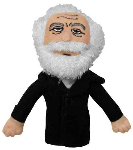 The Unemployed Philosophers Guild Karl Marx Finger Puppet and Refrigerator Magnet